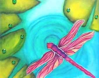 Fuchsia Winged Chaser