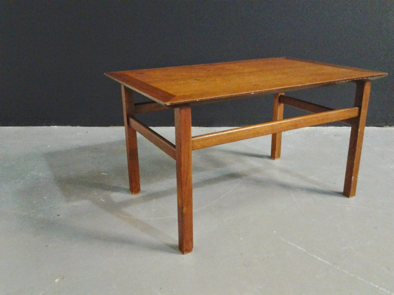 Vintage Midcentury Modern Small Coffee Table J B Van Sciver