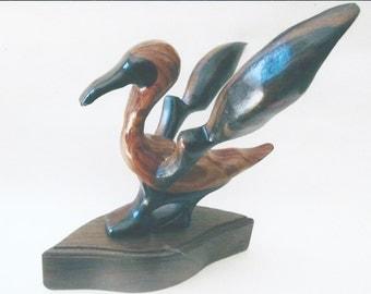 Abstract Bird Sculpture