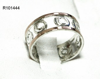 Womens Thin Handcrafted 9ct 9k Gold 925 Sterling Silver Band Ring size 6 7 8 9 new, silver gold ring, sterling silver ring, 925 silver ring