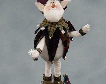 """Pattern: Sigmond Von Snelf - 12"""" Snowman Elf"""