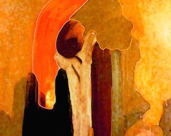 Sometimes I Dream of Autumn  -  Fine Art (Giclee) Print of an original oil painting.