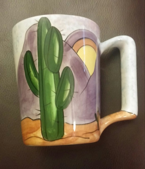 Expensive Pieces 1982 Southwest Desert Mug By