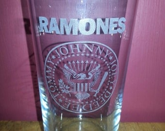 Ramones Pint Glass