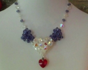 Hearts of Love Necklace its about 17 inches an can be made in many colors