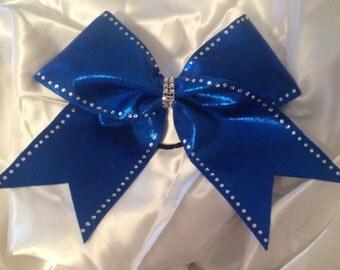 Blingy cheer bow!!