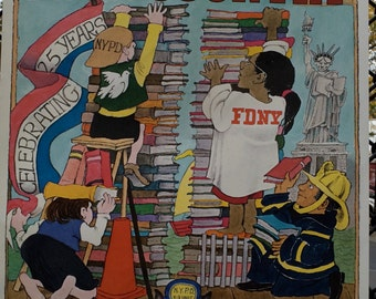 Sendak POSTER New York Is Book Country Festival | MAURICE SENDAK illustration | Year '03 25th Anniversary edition | 4 Color Printing