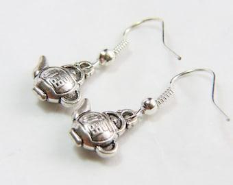 teapot Teapot Earrings, Tea Earrings, Tea Party Jewelry