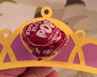 Princess Crown Lollipops!