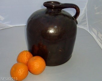 antique beehive stoneware salt glazed whiskey jug
