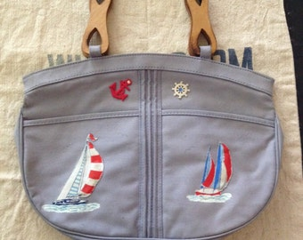 Purse-Nautical Pin-Up
