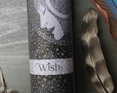 Wish Intention Candle (Moon and Stars)