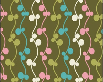 Cotton Fabric by Art Gallery Fabrics Girly Girl Olive Vines GIG-501