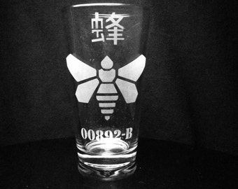 Breaking Bad Inspired- Golden Moth Chemical- Barrel- Pint Glass