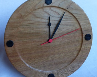 Elm/Oak  Wall Clock With Quartz Movement