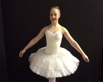 Professionally made rehearsal and performance ballet tutus