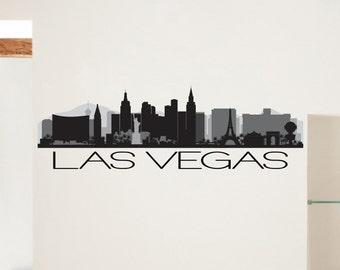 Los Angeles City Skyline Vinyl Sticker Decal Item - Custom vinyl decals las vegas