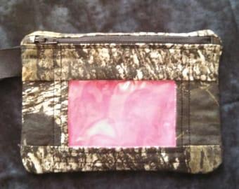 Mossy Oak Camo & Pink Phone/ID Case