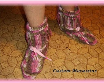 Custom Made Moccasins