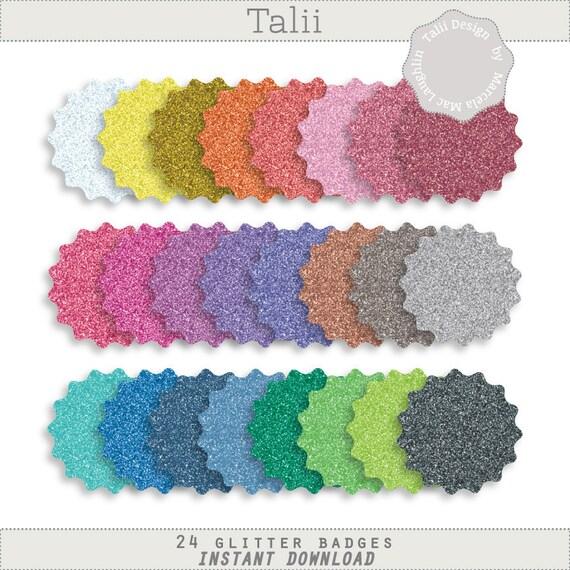 Etiquetas Redondas de Colores Clipart Etiquetas Redondas 24