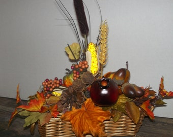 Fall Table Top Centerpiece