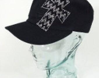 Bling Chevron Cross hat