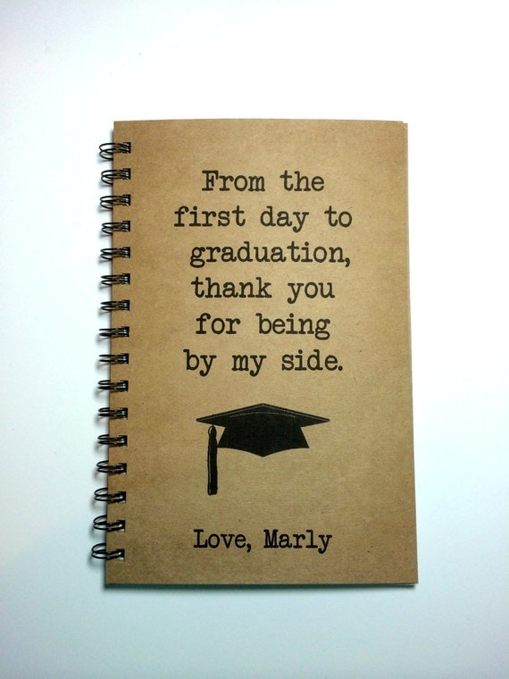 Graduation Gift, To Parents, Graduation Notebook, To Mom, To Dad ...