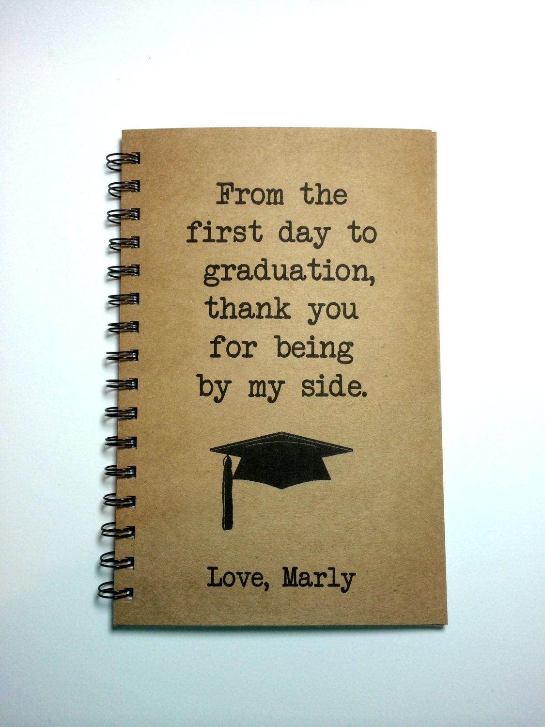 Graduation Gift To Parents Graduation Notebook To Mom To