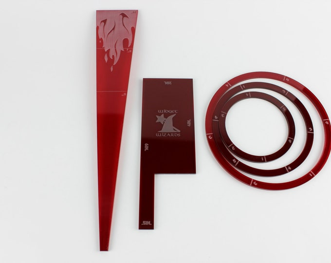 Red - War Machine and the Hordes starter measurement kits
