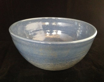 Bowl - Handmade clay pottery bowl made on a pottery wheel