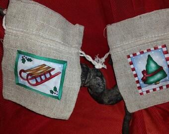 small giftbags for christmas