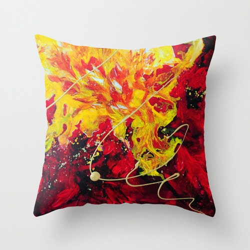Red Pillow Yellow Pillow Art Pillow Abstract Pillow Covers : ilfullxfull704637937nk98 from www.etsy.com size 500 x 500 jpeg 70kB