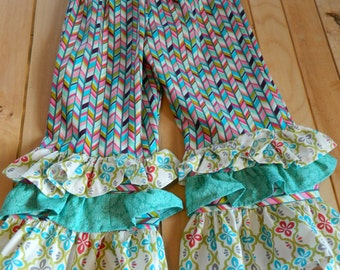 Boutique Ruffle  Pants Girl's Size 5