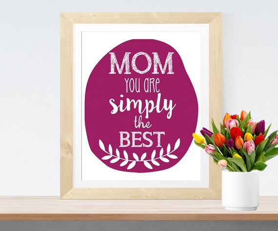 home decor wall art gift for mom 39 mom you are simply the
