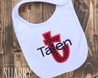 Personalized Baby Bib, Baby Gift