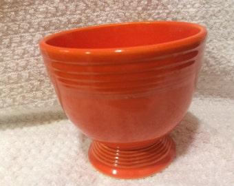 Fiestaware Vintage Red Egg Cup
