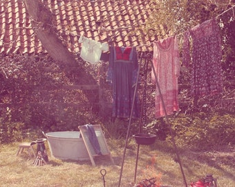 Laundry Day-A6 notecard