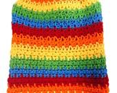 Skippy's Fantastic Rainbow Dog Sweater