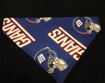 Dog bandana, NY Giants