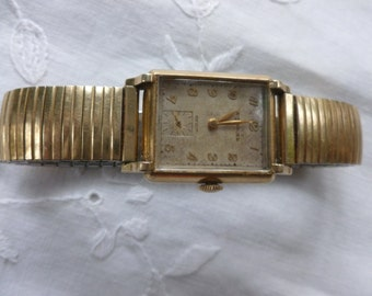 Wittnauer vintage men's gold fill watch