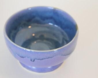 Hand thrown stoneware pottery bowl
