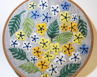 Handmade Embroidery - Flowers