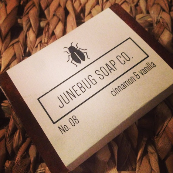 3 PACK: Cinnamon & Vanilla Handmade Soap