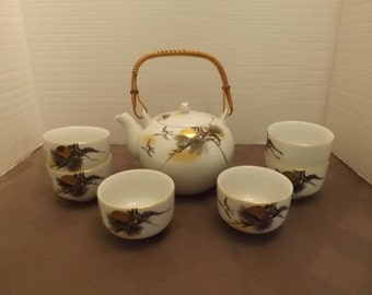 Nishikawa - 8 pc. Chinese Tea Set