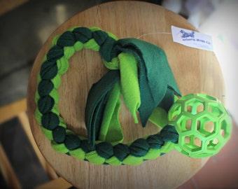 Hol-ee Roller Braided Tug Toy
