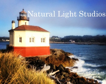 Digital Photo Download - Coquille River Lighthouse