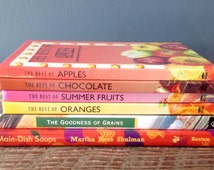 6 Little Books On Apples, Oranges, Summer fruits, Chocolate, Soups & Grains