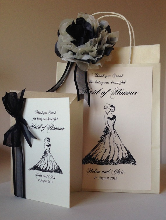 Thank You Wedding Gift Bags : ... Gifts Guest Books Portraits & Frames Wedding Favors All Gifts