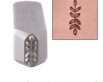 Branch Metal Stamp Border Symmetrical 11.5mm x 3.5mm Metal Stamping / Punch Tools for Metal Stamped DIY Jewelry, Jewelry Making Tools(DS433)