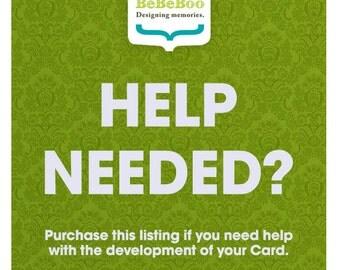 Help Customize Card - Customize Card - Template - Photoshop Help - Help - Customize Template